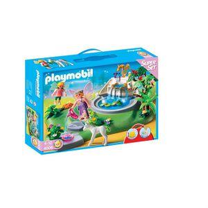 UNIVERS MINIATURE Playmobil Superset Fées & Fontaine Enchantée