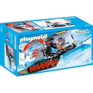 FIGURINE - PERSONNAGE PLAYMOBIL 9500 - Family Fun - Agent avec chasse-ne