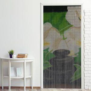 RIDEAU DE PORTE Rideau de porte bambou ''Jardin Zen'' 90 x 200 cm