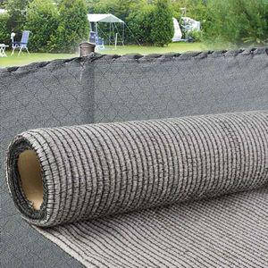 CLÔTURE - GRILLAGE Brise vue gris  Taille 1 x 5 m