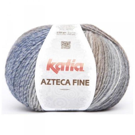 Laine AZTECA MILRAYAS Katia 714 Vert turquoise