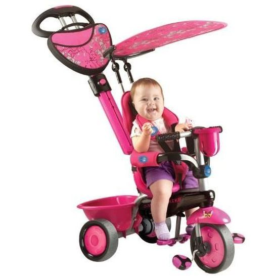 Tricycle evolutif smart trike rose
