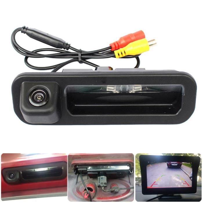 Poignée de coffre de voiture avec Vision nocturne, caméra de recul pour Ford Focus 2012 – 2015, accessoires automobiles [FE5D3B4]