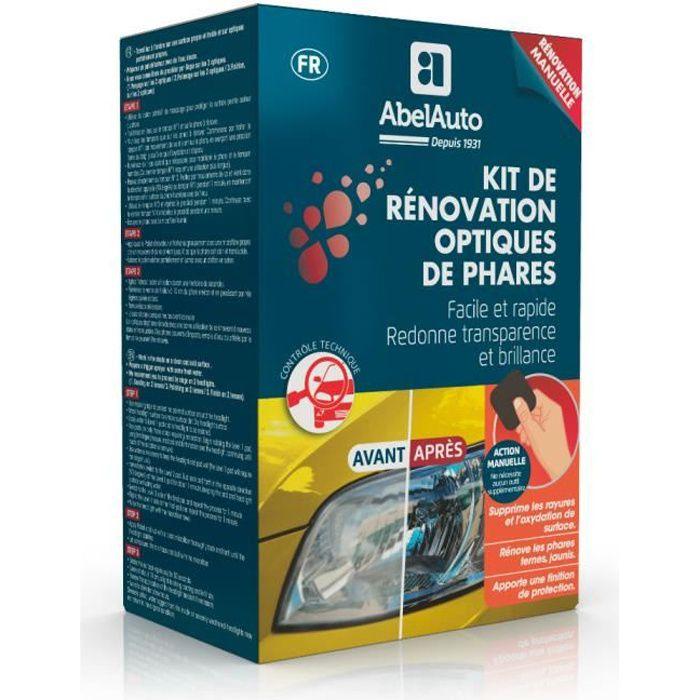 Kit de rénovation optiques de phares manuel-ABELAUTO