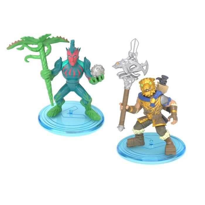 FORTNITE Battle Royale - Pack Duo Figurines 5cm - Battle Hound & Flytrap