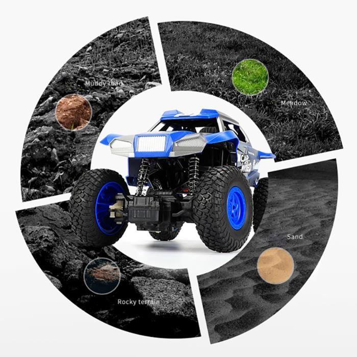 1:20 2.4G haute vitesse voiture de course RC camion de contrôle à distance camion tout-terrain Buggy Jouets