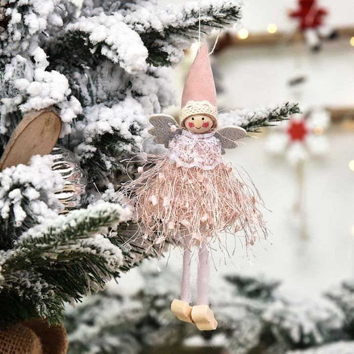 1PC Christmas Ornaments Gift Santa Claus Snowman Toy Doll Hang A1191
