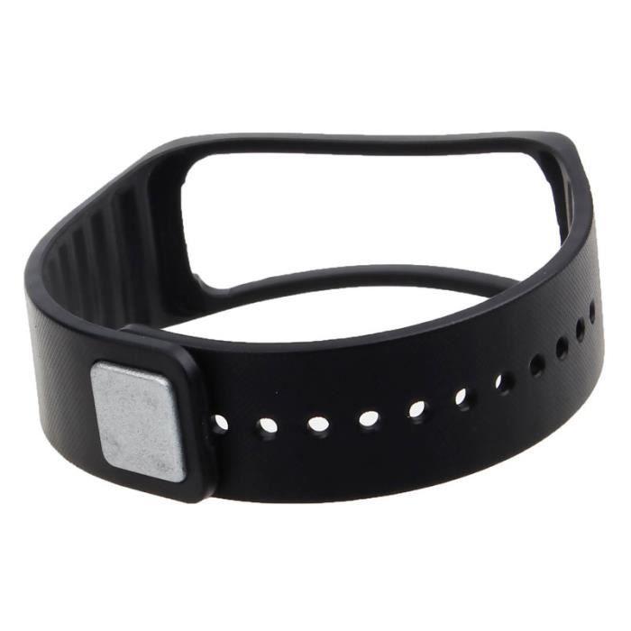 Bracelet de remplacement pour bracelet de montre pour Samsung Galaxy Gear Fit noir PACK PRODUITS DE FITNESS ET MUSCULATION_LR382