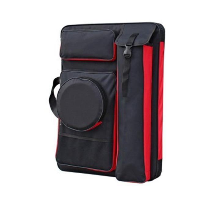 1PCS Multifonctionnel 4K Sketchpad Sacs Imperméable Portable Art Sac À Dos