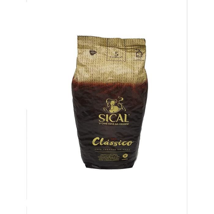 délicieux portugais torréfié grains de café ? Sical 5 étoiles (1KG)