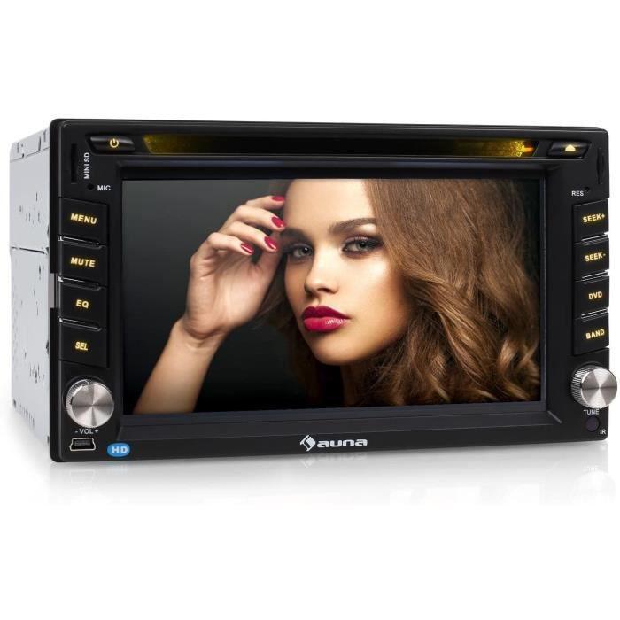 MVD-480 autoradio Multimedia (avec Bluetooth, ecran Retractable 16,5cm, Lecteur DVD, Port USB et SD Compatible MP3, Tuner FM,[126]