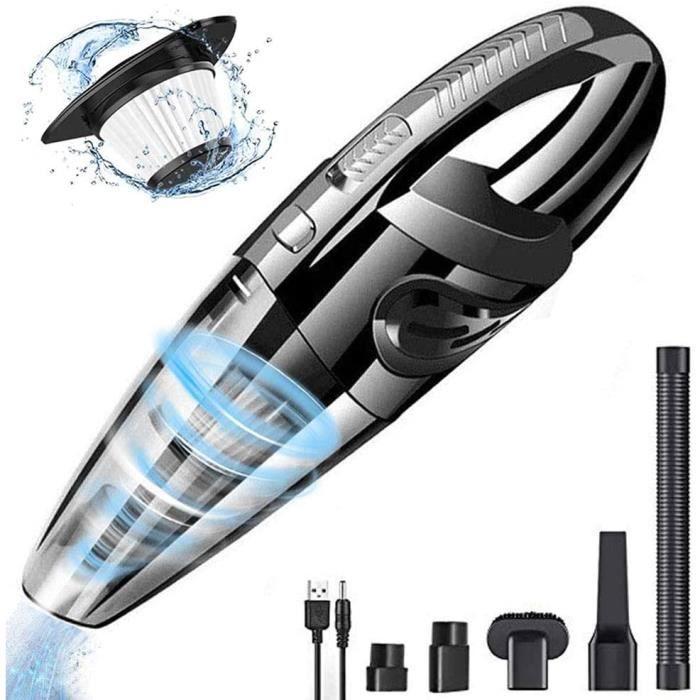 ASPIRATEUR A MAIN Aspirateur agrave Main Sans Fil DokFin 120W puissant usb rechargeable mini aspirateur portatif de voiture util884
