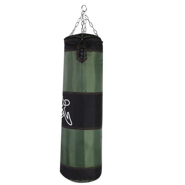 1m Creuse Sac De Frappe Boxing Sport Fitness Combat Punching Boxe (Sac de sable vide)