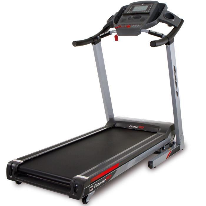BH Fitness Tapis de Course - PIONEER R7 G6586 - - 20 Km/h - 140 x x51 cm - Inclinaison éléctrique 12% max - 8 ANS DE GARANTIE