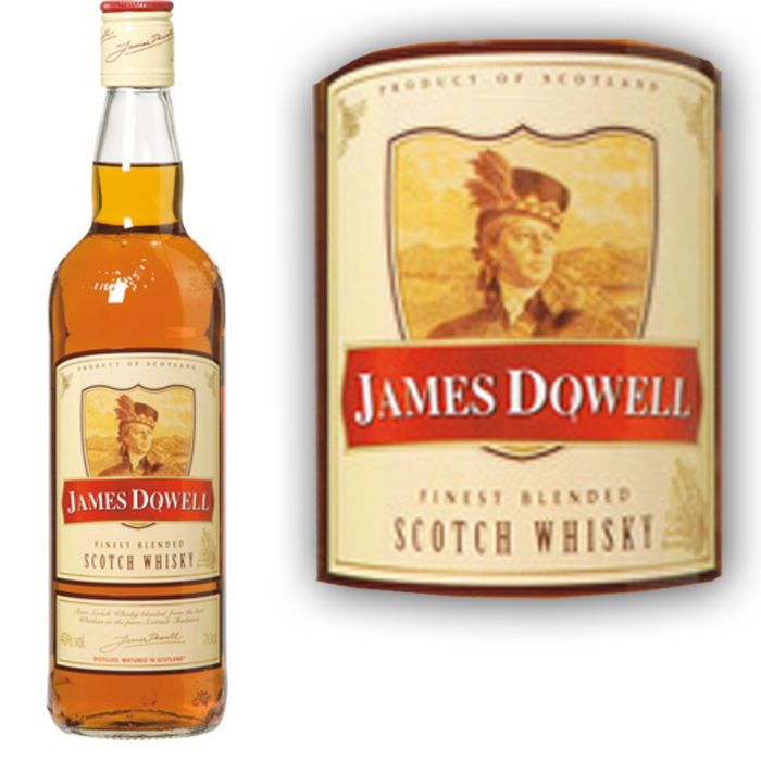 James Dowell 70cl Scotch whisky 70cl 40°