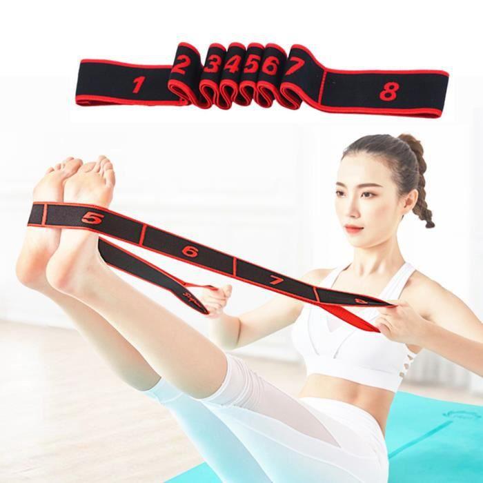 Élastique fitness Sport Femmes Bandes de résistance musculation adultes enfants Yoga pilates danse gym elastiband corde ruban sangle