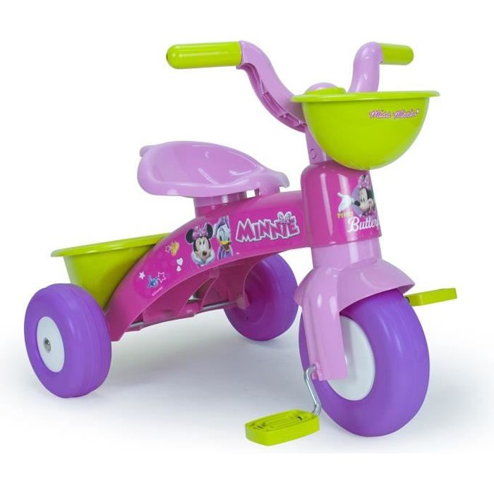 MINNIE Tricycle enfant rose