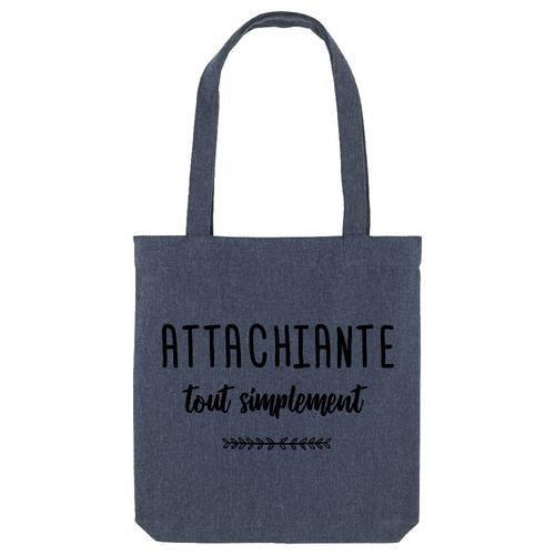 Tote bag - Coton - Bleu GS ATTACHIANTE TOUT SIMPLEMENT