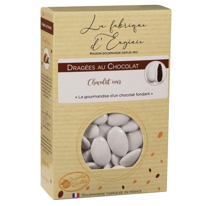 LA FABRIQUE D'EUGENIE Dragées au Chocolat - Blanc - 500 g