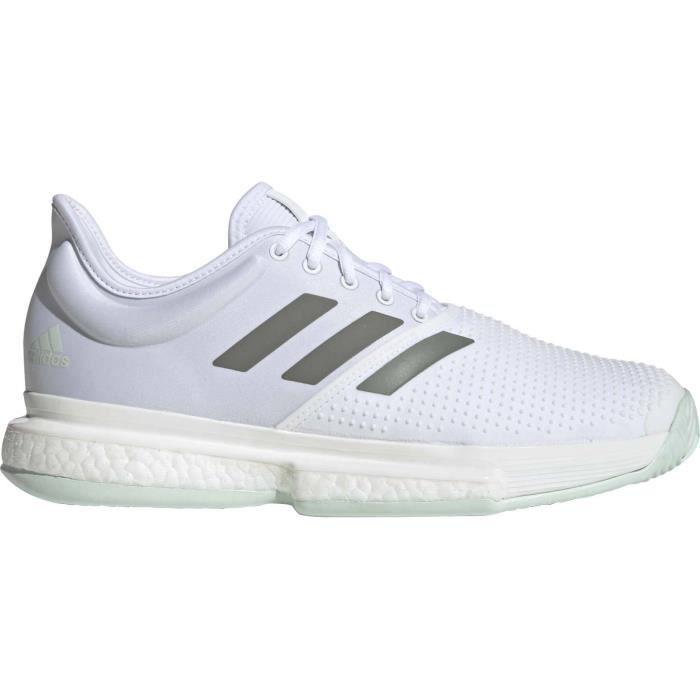 adidas SoleCourt Hommes Chaussure tennis blanc