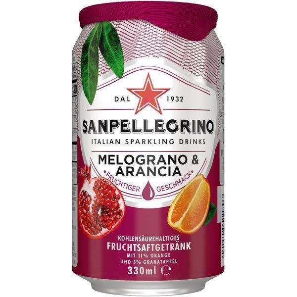 Sanpellegrino Melograno & Arancia 0,33l (Pack de 24)
