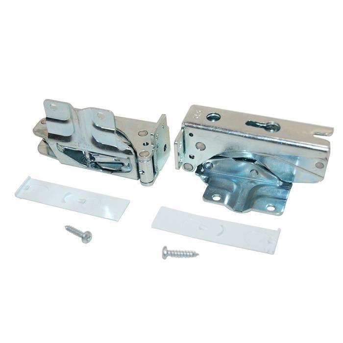 Bosch - CHARNIERES DE PORTE REFRIGERATEUR KIT 2 - 00481147: Gros électroménager