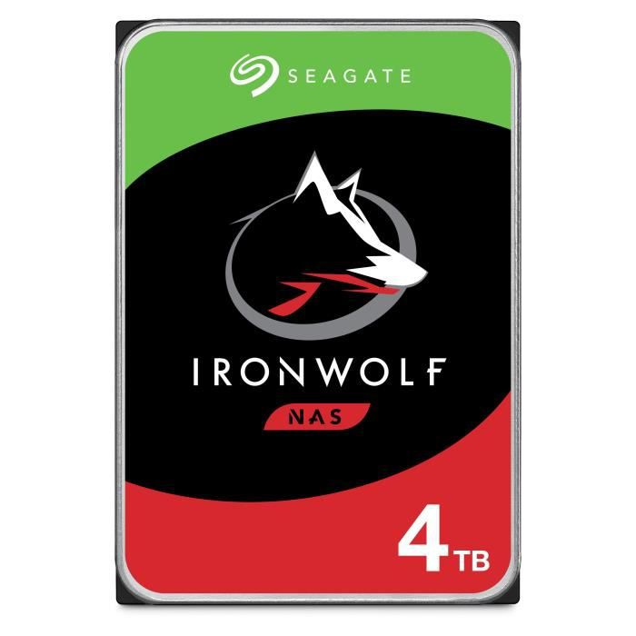"""Disque dur interne Seagate Seagate nas hdd iron wolf 4to 3,5"""""""
