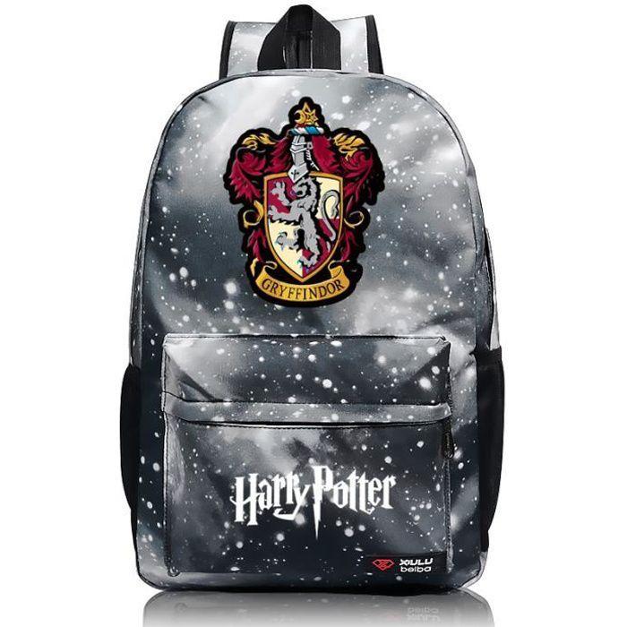 MOBIGARLAN Sac à Dos - Sac d'École cartable étudiant Harry Potter imprimé pour enfant adolescent modèle 09