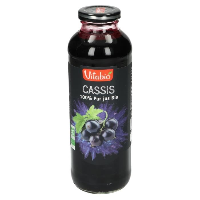 Pur jus cassis 50cl