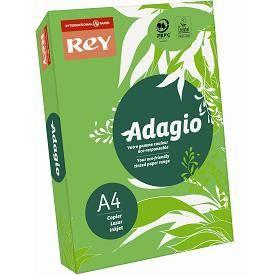 PAPIER IMPRIMANTE Papier A4 Adagio Rey 80g couleur vert intense