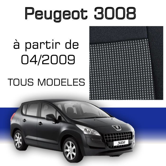 bache de protection pour voiture peugeot 3008 taille 3 voitures. Black Bedroom Furniture Sets. Home Design Ideas