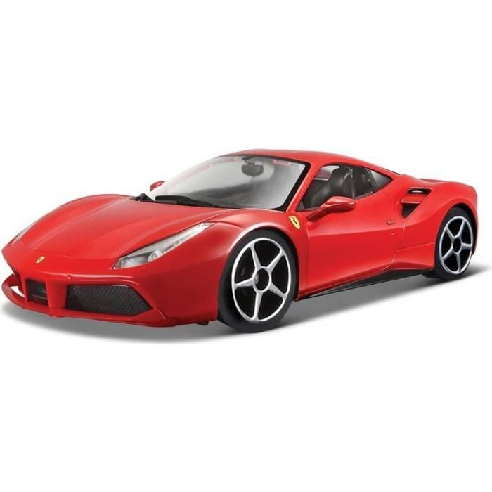burago voiture ferrari 488 gtb echelle 1 18 achat vente voiture camion cdiscount. Black Bedroom Furniture Sets. Home Design Ideas