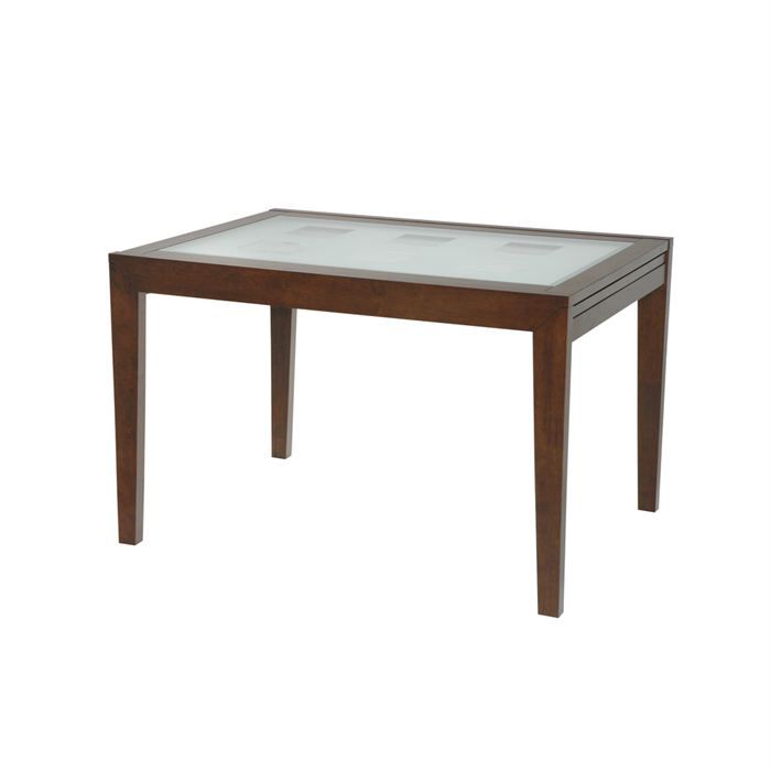 Table de repas salle manger allonges weng achat for Table salle a manger wenge