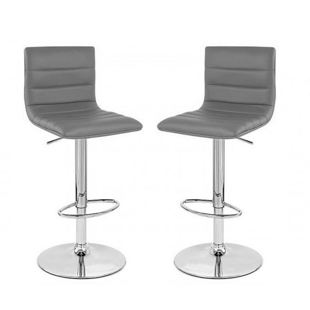tabouret de bar gris x2 prince achat vente tabouret de bar cdiscount. Black Bedroom Furniture Sets. Home Design Ideas