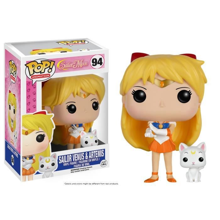 FIGURINE - PERSONNAGE Figurine Funko Pop! Sailor Moon: Sailor Venus & Ar