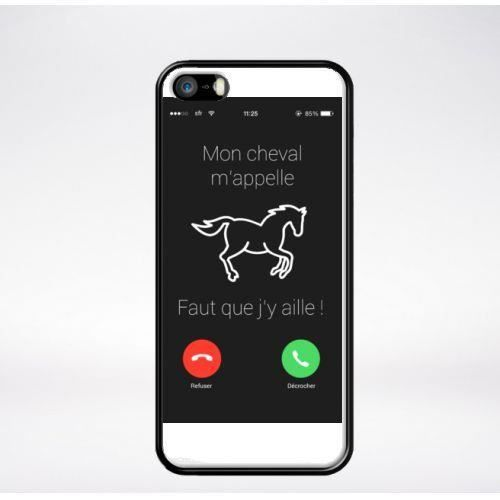 coque telephone cheval compatible iphone 5s bord n