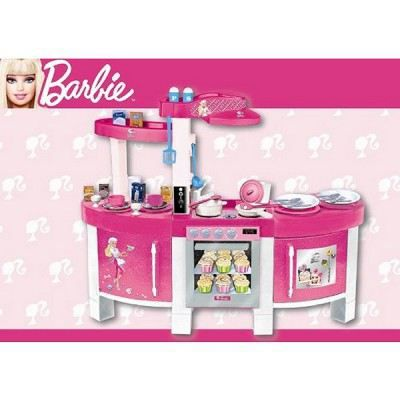 cuisine lectronique barbie achat vente dinette cuisine cuisine lectronique barbie. Black Bedroom Furniture Sets. Home Design Ideas