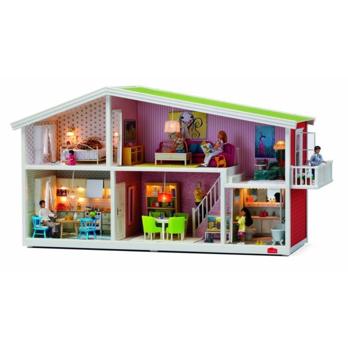 lundby maison de poup e smaland achat vente maison poup e cdiscount. Black Bedroom Furniture Sets. Home Design Ideas