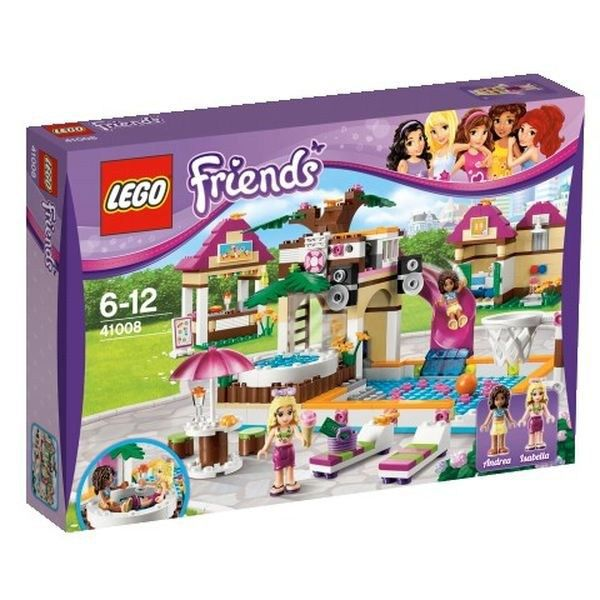 la piscine d 39 heartlake city lego friends 41008 achat