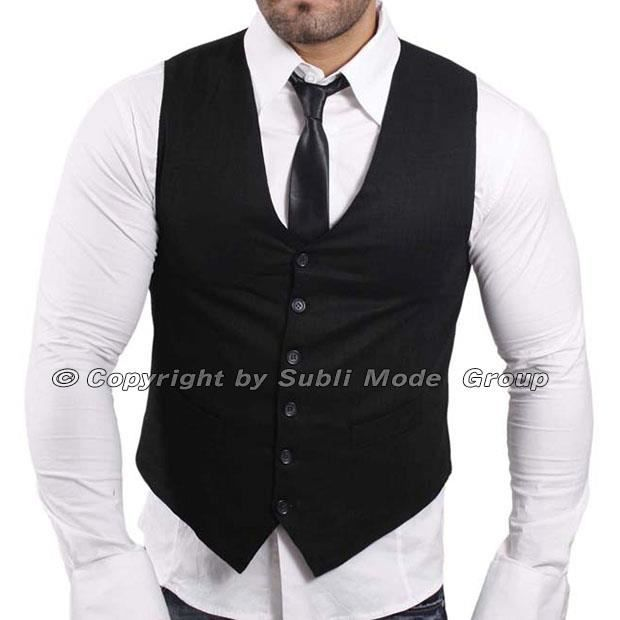gilet chemise cravate homme noir blanc noir achat vente costume tailleur cdiscount. Black Bedroom Furniture Sets. Home Design Ideas