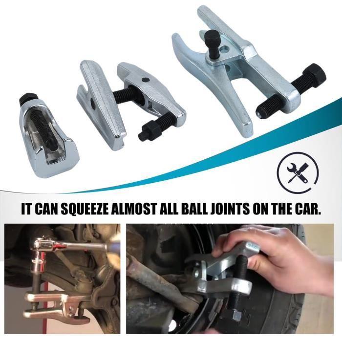 Outil de Joint /à Rotule 5Pcs S/éparateur de Joint Tige /à Rotule Extracteur de Rotule pour Voiture Camion L/éger