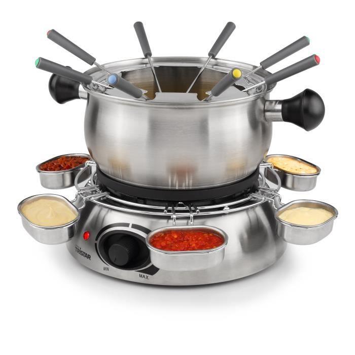 Photo de tristar-fo-1100-appareil-a-fondue-inox