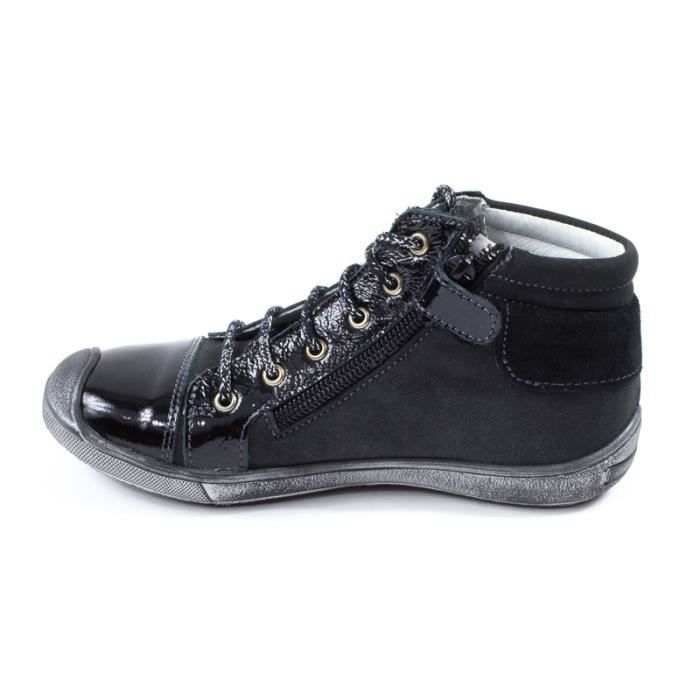 GBB bottines noir HADEL 30311