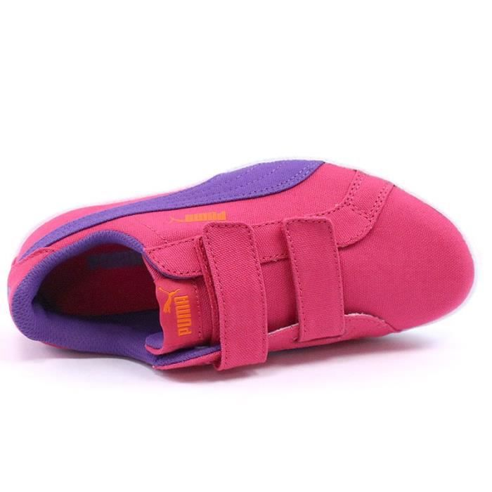 Chaussures Puma Rose Fun Fille V CV Smash Ywprx4qOY