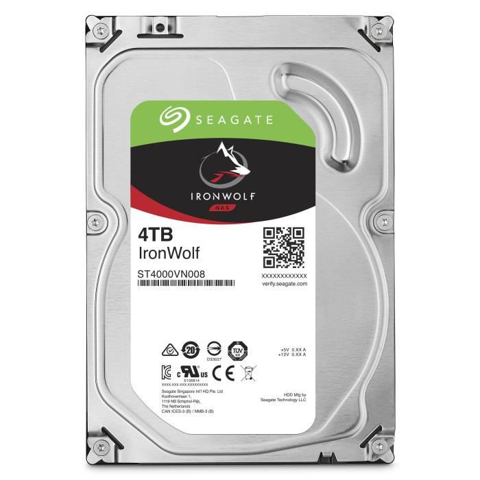Stockage - HDD format 3,5 pouces