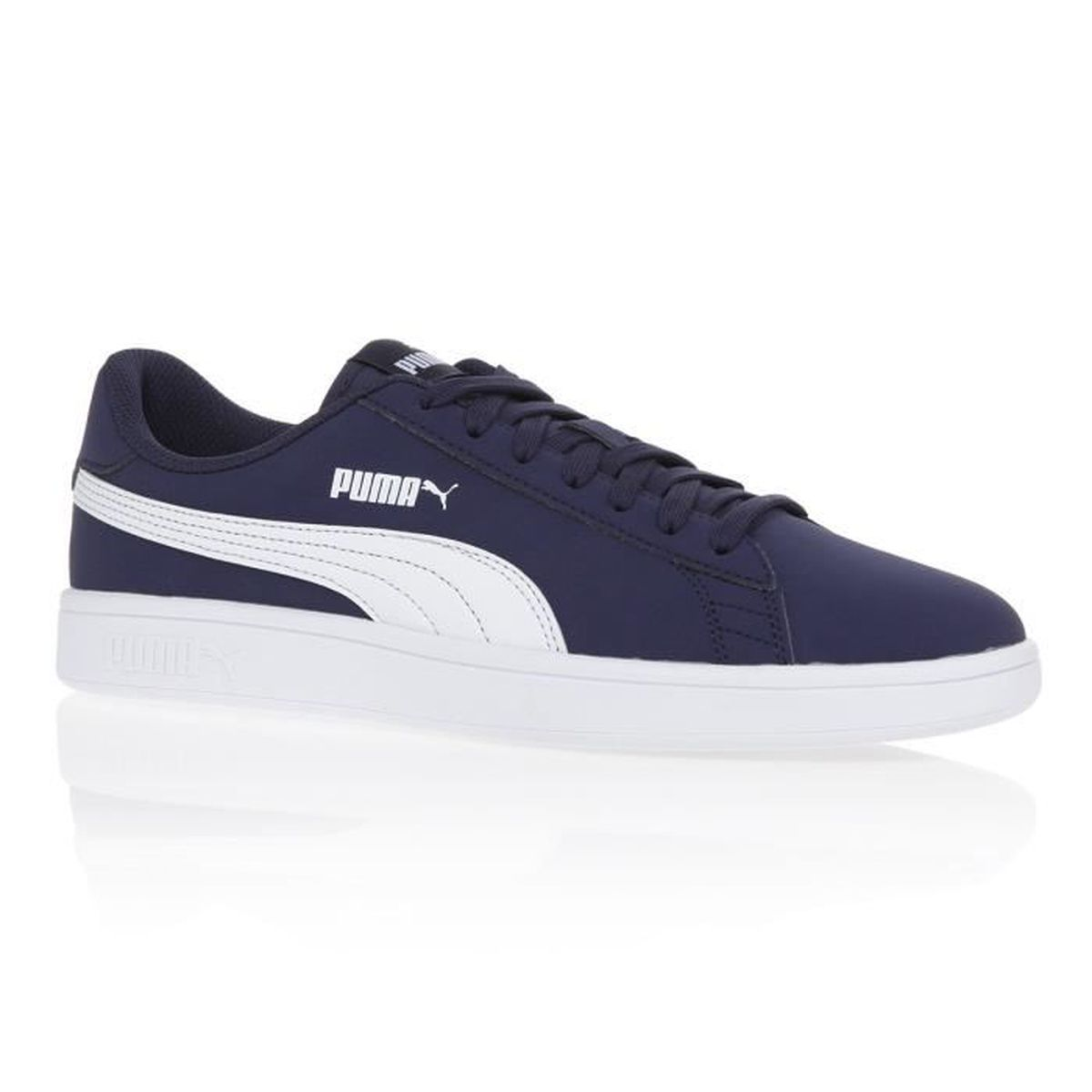 BASKET PUMA Baskets Smash v2 Buck - Mixte - Bleu