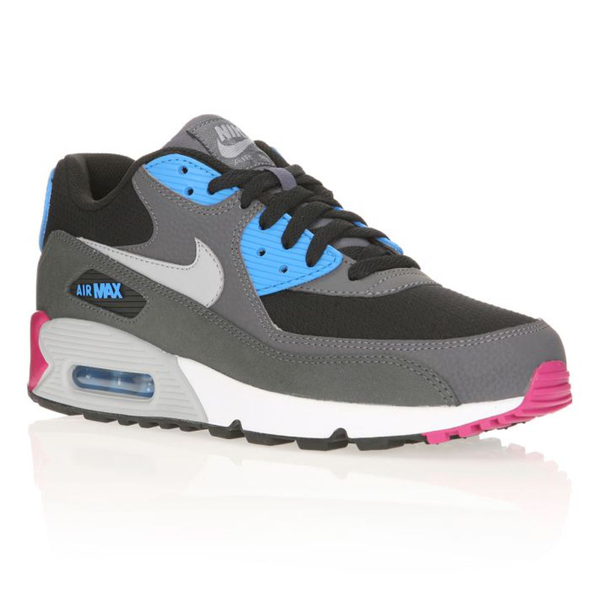 good out x elegant shoes authorized site NIKE Baskets AIR MAX 90 ESSENTIAL Homme Gris / Noir / Turquoise ...