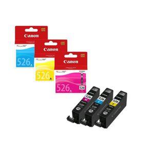 CARTOUCHE IMPRIMANTE Cartouches Canon CLI-526 C/M/Y Pack Couleurs Cyan/