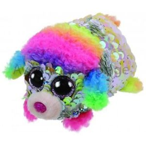 PELUCHE Peluche Teeny Ty flippables sequins Rainbow le can