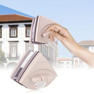 /épaisseur 3-24mm MILECN Nettoyeur de vitres magn/étique r/églable Double Face essuie-vitre int/érieur et ext/érieur pour fen/êtres de Grande Hauteur et vitr/ées de Voiture